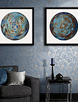 E-HOME® Framed Canvas Art, Abstract Framed Canvas Print Set of 2