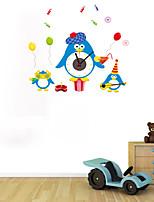 DIY Cartoon Animal Concert Wall Clock