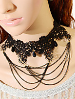 Vintage Gothic Chain Necklace