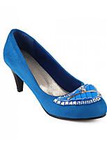 Women's Shoes Synthetic Stiletto Heels/Basic Pump Pumps/Heels Office & Career