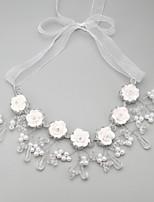 Damen Halskette Jubiläum / Hochzeit / Verlobung / Geburtstag / Geschenk / Party Künstliche Perle / StrassKünstliche Perle / Legierung /
