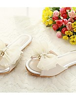 Girls' Shoes Casual Open Toe Sandals Pink/Beige