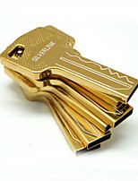 16GB Gold and Silver Key Shape Gift USB Pen Drive