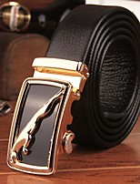 Men Party/Work/Casual Alloy Calfskin Waist Belt