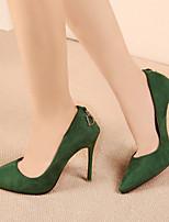 Women's Shoes  Stiletto Heel Heels/Platform/Pointed Toe/Closed Toe Pumps/Heels Casual Black/Blue/Green/Purple/Red