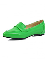 Girls' Shoes Casual Pointed Toe  Flats Black/Green/Red/White/Khaki