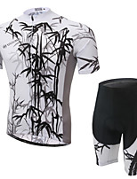 WEST BIKING® Men's Mountain Bike Clothing Suit Breathable Bamboo Wicking Cycling Clothing Short Suit