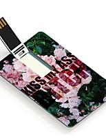 64GB mijn kont ontwerp kaart usb flash drive kiss