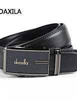 Men Party/Work/Casual Calfskin Waist Belt men's leather belt business casual leather belt fashion wild belt width 3.5cm