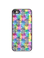 Personalized Gift Pineapple Pattern Aluminum Hard Case for iPhone 4/4S