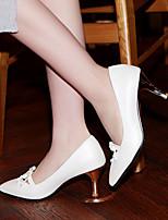 Women's Shoes  Stiletto Heel Heels/Pointed Toe Pumps/Heels Office & Career/Dress Black/Pink/White