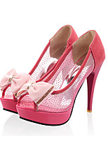 Women's Shoes Tulle Stiletto Heel Peep Toe Sandals Dress More Colors available