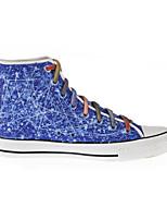 Scarpe Donna - Sneakers alla moda / Scarpe da ginnastica - Tempo libero / Casual / Sportivo - Comoda - Piatto - Di corda - Blu