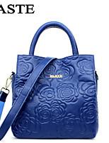 Paste® Best Seller New Fashion Women Tote Bag Flower Embossing Girl Bag