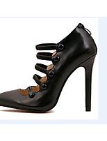 Women's Shoes  Stiletto Heel Heels Pumps/Heels Office & Career/Party & Evening/Casual Black