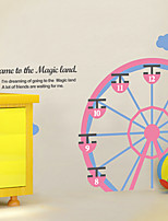 Wall Stickers Wall Decals, Modern The Ferris wheel PVC Wall Stickers