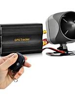 sensor gps choque TK103B + control remoto + accesorios completos de localización GPS del teléfono monitor del sistema de alarma de coche