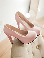 Women's Shoes Synthetic Stiletto Heel Heels/Platform/Basic Pump Pumps/Heels Office & Career/Dress