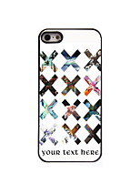 Personalized Gift X Design Aluminum Hard Case for iPhone 4/4S