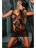 Women's Seamless Strappy Lace Chemise