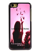 Personalized Gift Dream It and Do It Design Aluminum Hard Case for iPhone 5C