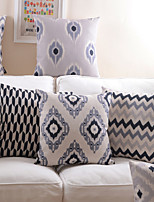 Linen Geometry Cushion Cover in 8 Desgins 18