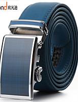 ALLFOND Unisex Casual/Party/Work Calfskin Waist Belt PZD4061-11