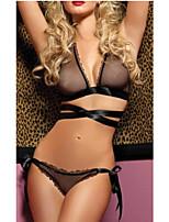 Black Sexy Night Dress Hot Girl Lady Lingerie Costumes Cute Nightwear Sleepwear Pajamas With Underwear