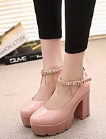 Women's Shoes Platform Closed Toe Tassel Pumps/Heels Office & Career/Party & Evening/Casual