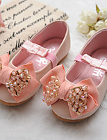 Girls' Shoes Comfort Round Toe Flat Heel Flats Shoes Dress