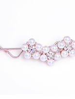 Women's Elegant Simple Gilded Pearl Hairpin FMYZJ030