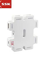 usb 2.0 ssk® shu011-1 7-Port Hub USB haut débit