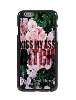 Personalized Gift Kiss My Ass Design Aluminum Hard Case for iPhone 6
