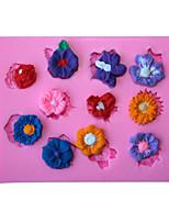 Backformen Silikon Blumen Fondantform Kuchendekoration Form
