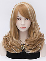 European and American Wind Highlights Three Naturally Curly Hair Wig