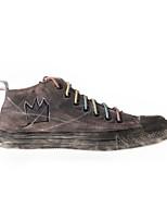 Scarpe da uomo - Sneakers alla moda / Scarpe da ginnastica - Tempo libero / Casual / Sportivo - Di corda - Marrone chiaro