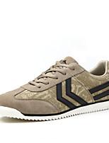 Scarpe da uomo - Sneakers alla moda - Tempo libero / Ufficio e lavoro / Casual / Sportivo - Di pelle - Blu / Grigio / Beige