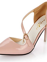 Women's Shoes Stiletto Heel Pointed Toe Pumps/ Dress Pink/White/Silver/Gold/Beige