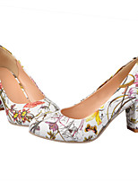 Women's Shoes  Stiletto Heel Round Toe Pumps/Heels Office & Career/Dress Blue/Yellow/Red/White
