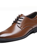Men's Shoes Office & Career Leather Oxfords Black/Brown