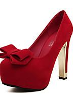 Women's Shoes  Platform Heels/Platform Pumps/Heels Wedding Black/Red