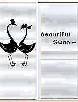 Wall Stickers Wall Decals , Beautiful Swan PVC Wall Stickers