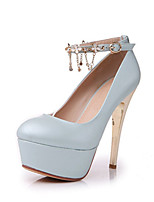 Women's Shoes Synthetic Low Heel Heels/Basic Pump Pumps/Heels Office & Career/Dress/Casual Blue/Pink/White