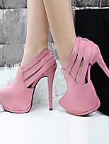 Women's Shoes Leatherette Stiletto Heel Heels Pumps Heels Casual Multi-color