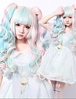 Mix Wigs Fluffy Long Wavy Curly Lolita Wig Anime Wigs