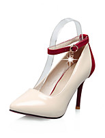 Women's Shoes PU Spring / Fall Heels / Ankle Strap / Pointed Toe Heels Office & Career / Casual Stiletto Heel