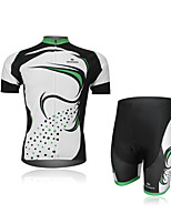 Men's Short Sleeve Summer Cycling Jersey Quick Dry Breathable Moisture Permeability Back Pocket Reflective Strips