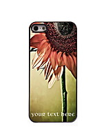Personalized Gift Sunflower Design Aluminum Hard Case for iPhone 5/5S