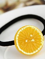 Banana Strawberry Kiwi  Lemon Fruit Hair Ring Rope