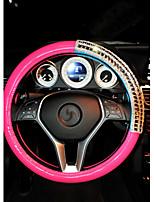 honorv ™ Coreia do Sul capas de roda definir verruma volante de diamante carro de direção